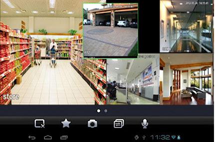 Podgląd obrazu kamer na smartfonie z Android